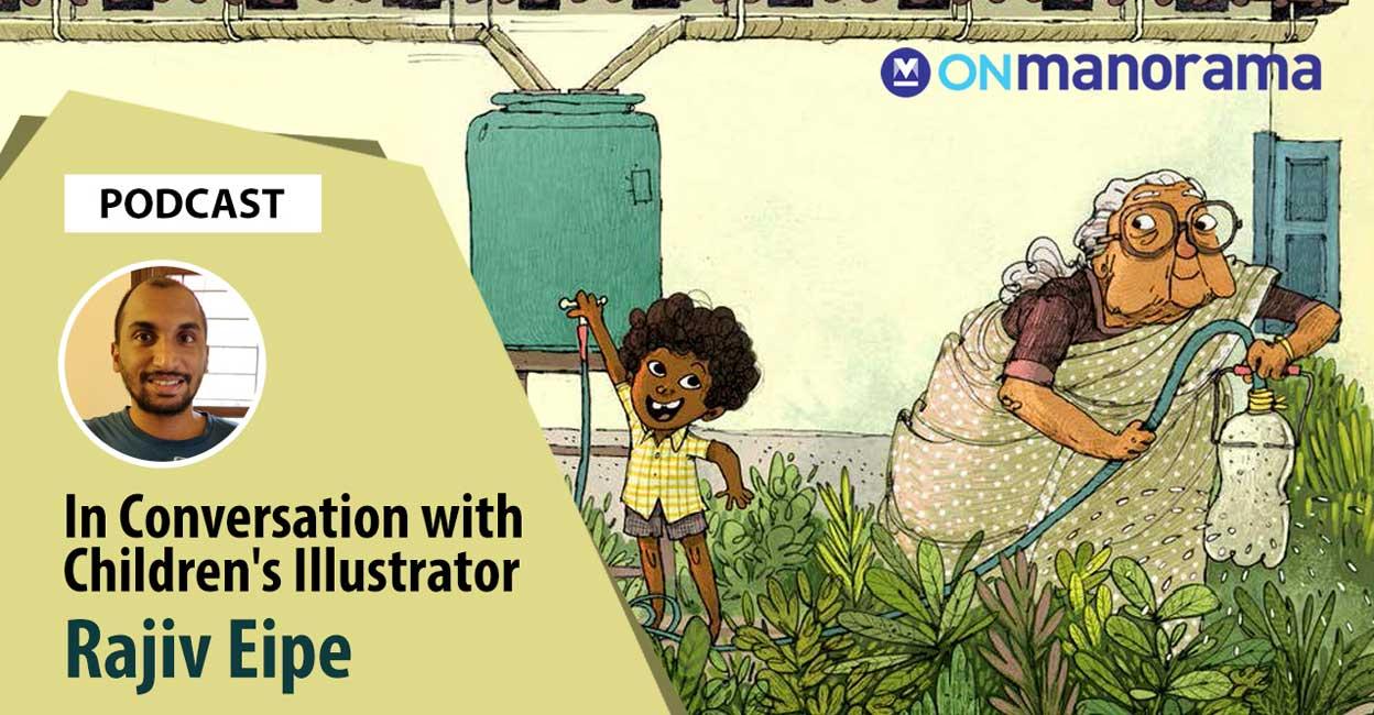 In conversation with children's book illustrator Rajiv Eipe