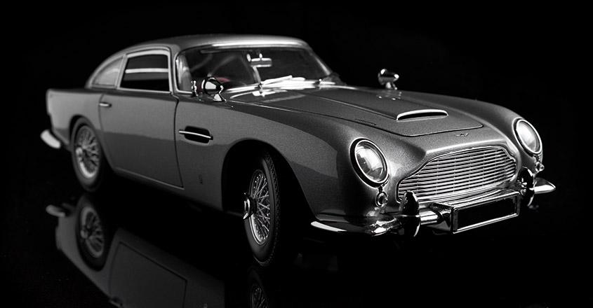 Aston Martin DB5, modified for James Bond film 'Thunderball,' sells for $6.4 million
