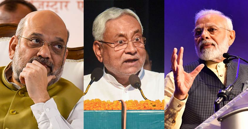 BJP wants CM Nitish Kumar out of Patna as Bihar polls loom