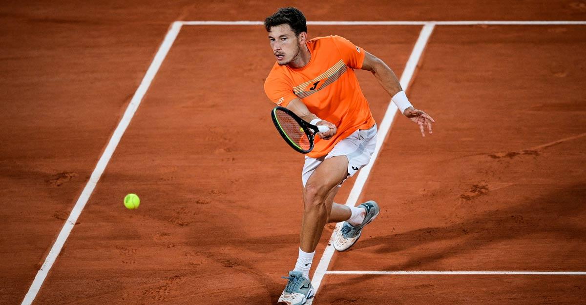 French Open: Novak Djokovic survives scare to beat Carreno Busta | Tennis |  Manorama