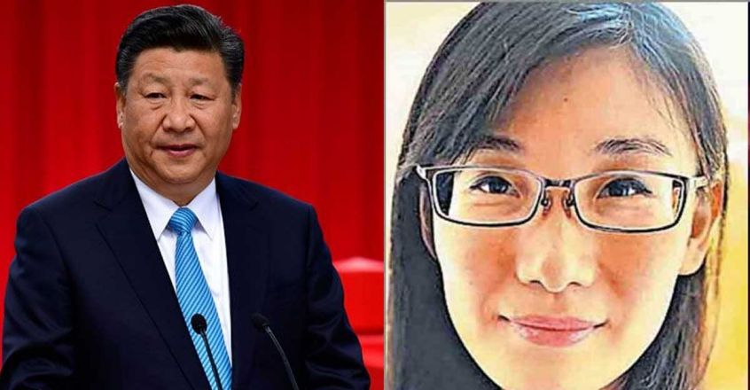 Chinese President Xi Jinping and Dr Li-Meng Yan