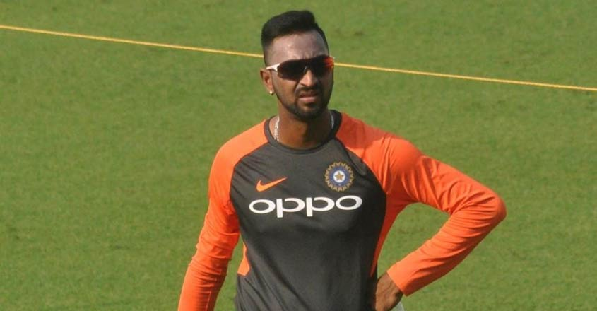 Krunal Pandya in India's 12 for first T20I vs West Indies