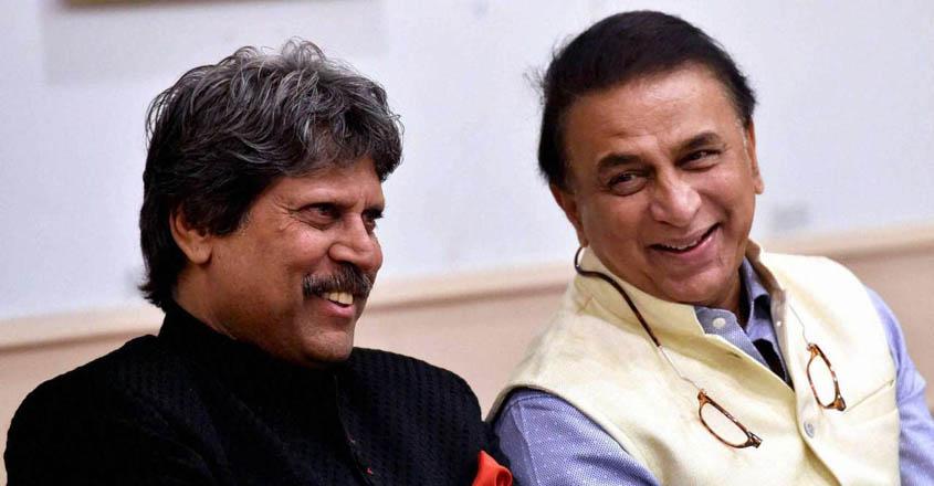 Kapil and Gavaskar