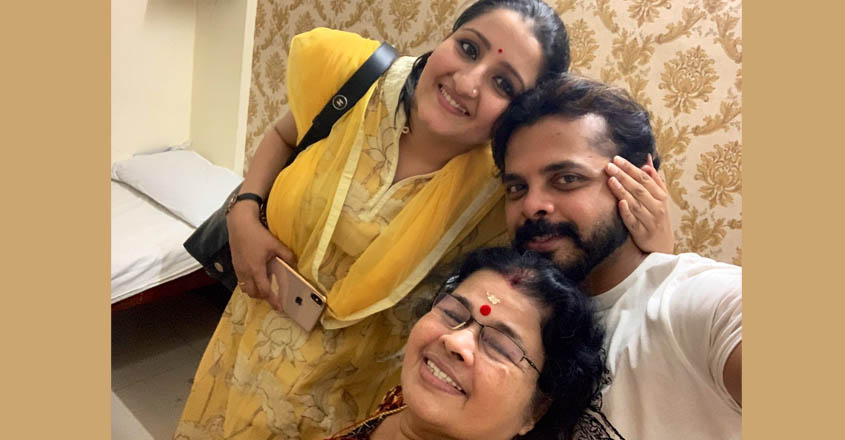 sreesanth-family