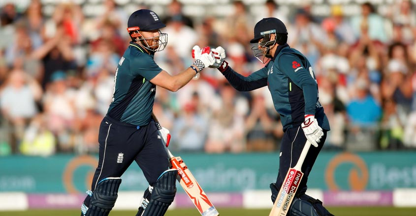 Bairstow supreme as England canter to 359 to beat Pakistan in ODI