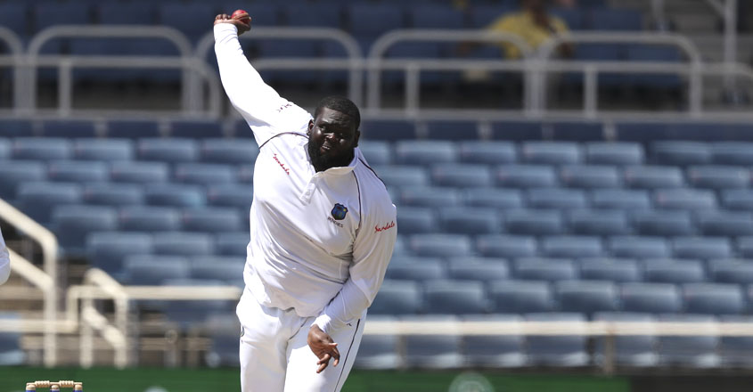 Windies' Rakheem Cornwall is world's heaviest Test cricketer