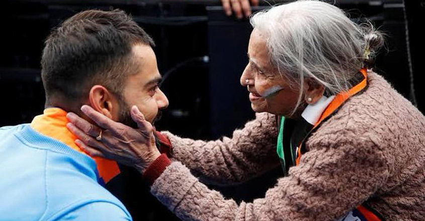 Team India's superfan Charulata Patel no more