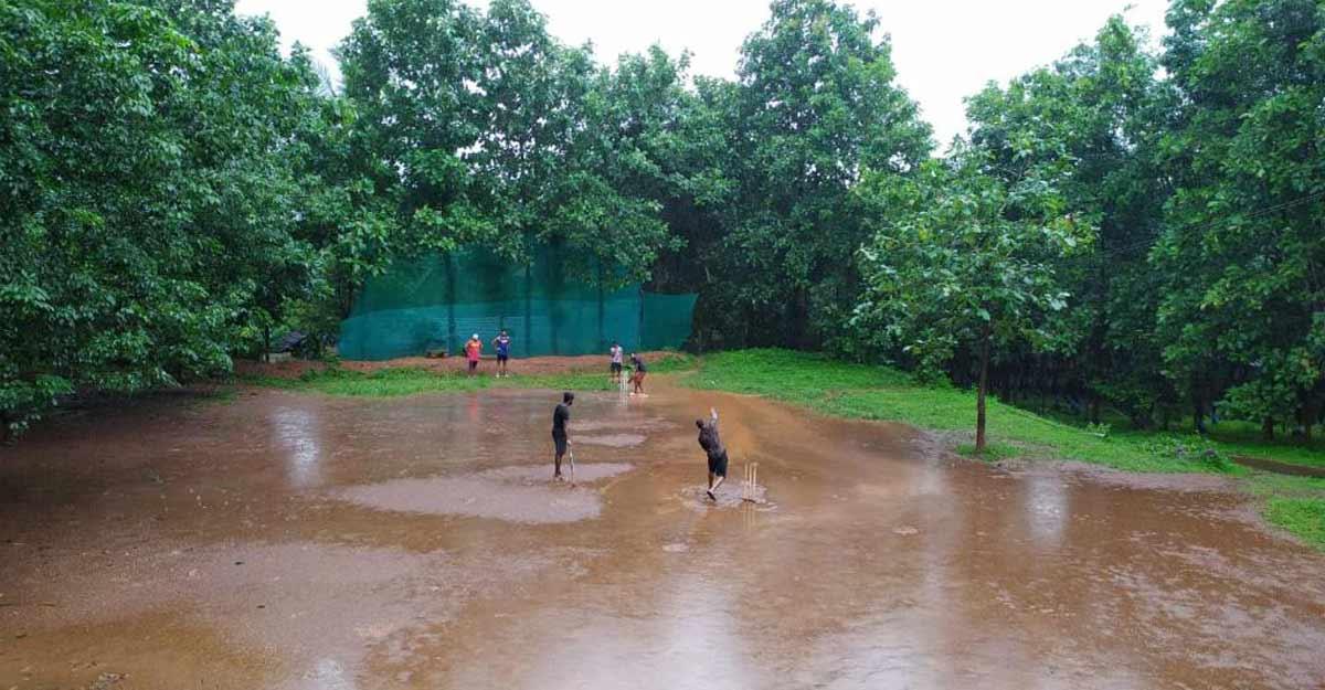 ICC shares photo of cricket in rain at Nilambur