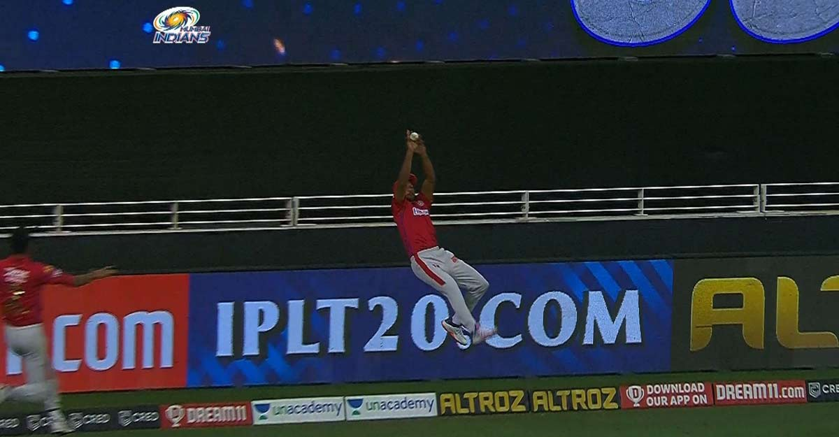 IPL 2020: 'Superman' Agarwal comes up with stunning save in Super Over