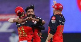 IPL 2020: Siraj stars as RCB crush KKR