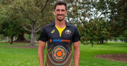 Australia unveil indigenous jersey for T20I series against India