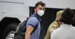 Indian team arrives in Sydney for Australia series