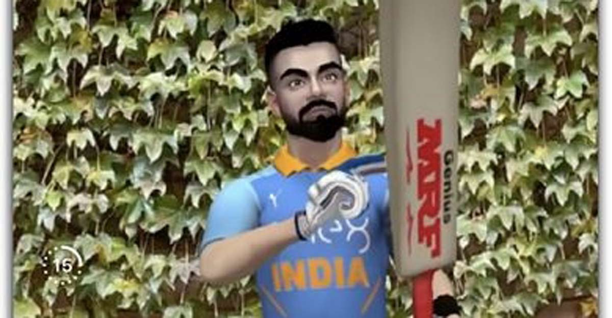 Facebook, Instagram launch AR effect featuring Kohli