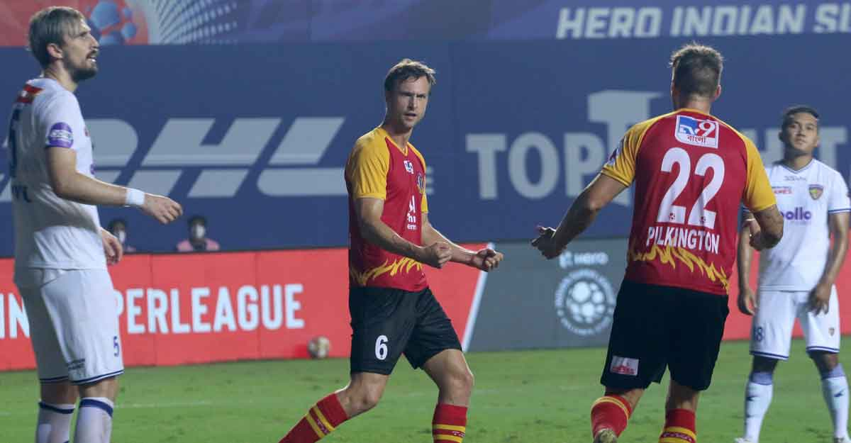 ISL: Steinmann brace salvages a point for East Bengal
