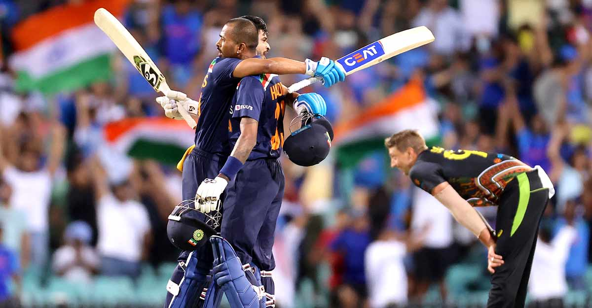 Pandya fires India to series win