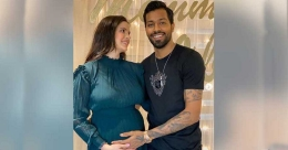 Indian all-rounder Hardik Pandya becomes dad