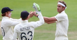 Broad hogs the limelight as England tighten grip on third Test