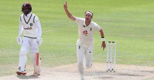Column   Broad – an intense fast bowler