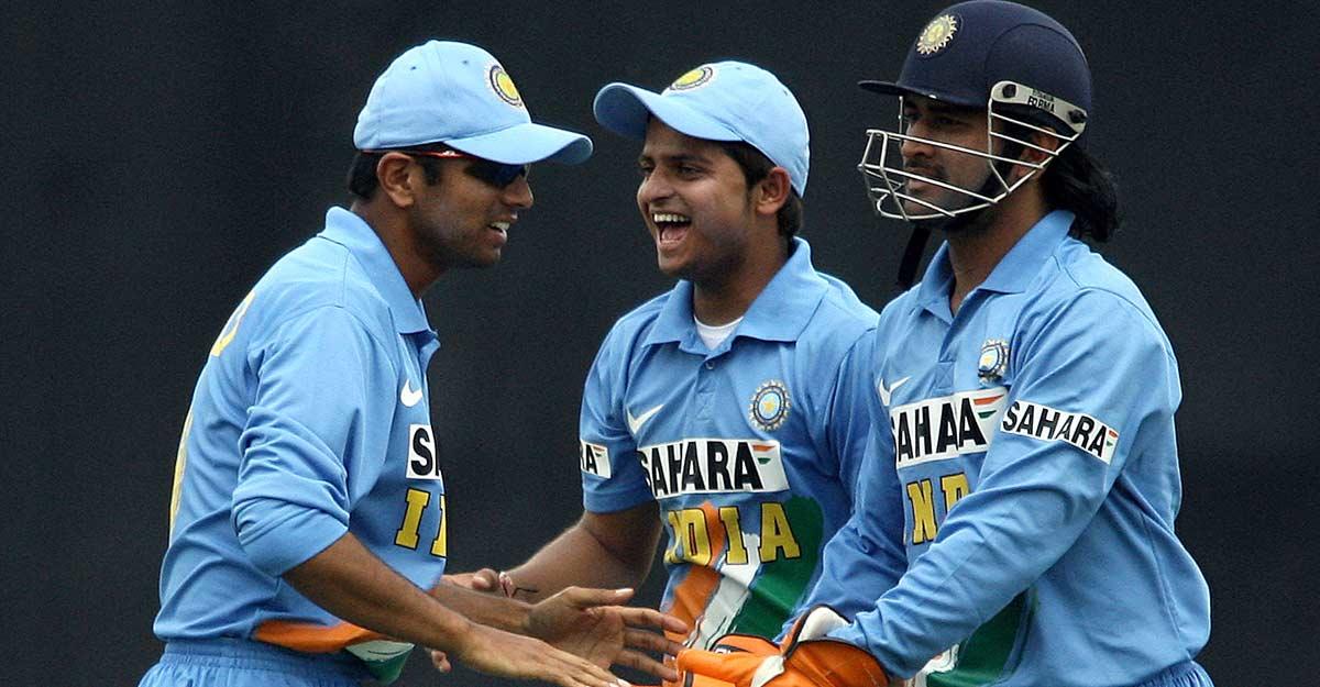 Raina was a terrific team man: Dravid
