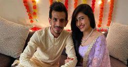 Chahal gets engaged to  YouTuber Dhanashree Verma