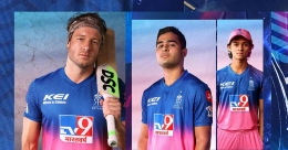 Rajasthan Royals unveil jersey in dramatic fashion | Video