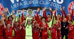 Bayern clinch Super Cup to complete quadruple