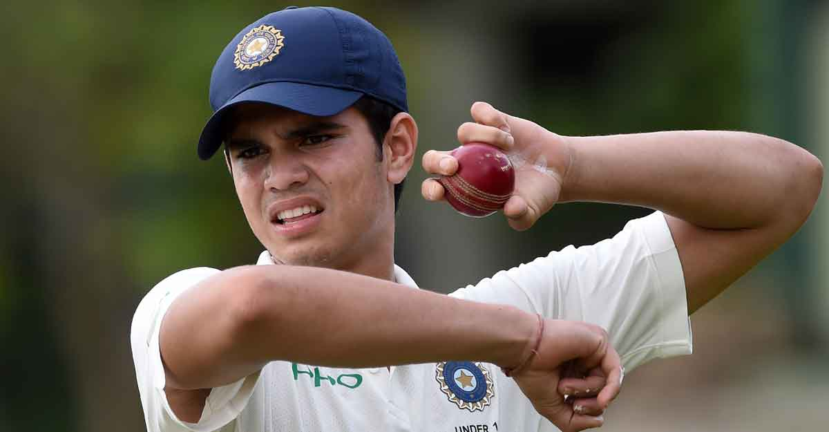Arjun Tendulkar gets maiden call-up to Mumbai senior squad