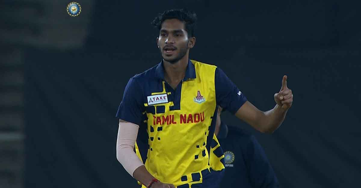 Siddarth stars as Tamil Nadu win Mushtaq Ali Trophy
