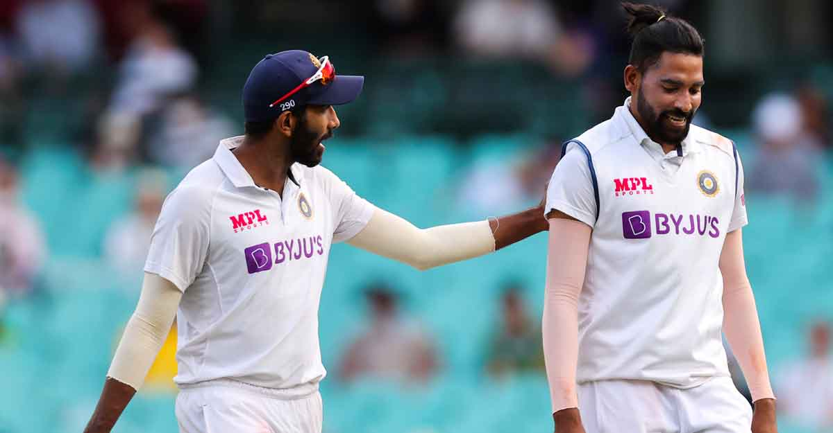BCCI lodges complaint after alleged racial abuse against Bumrah, Siraj