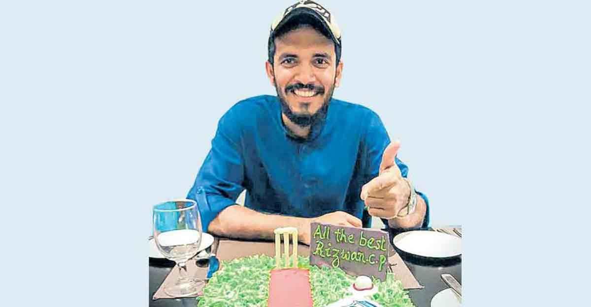 Meet Rizwan, first Malayali to score ODI hundred