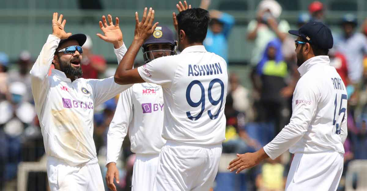 Ashwin goes past Harbhajan as second highest wicket-taker in India