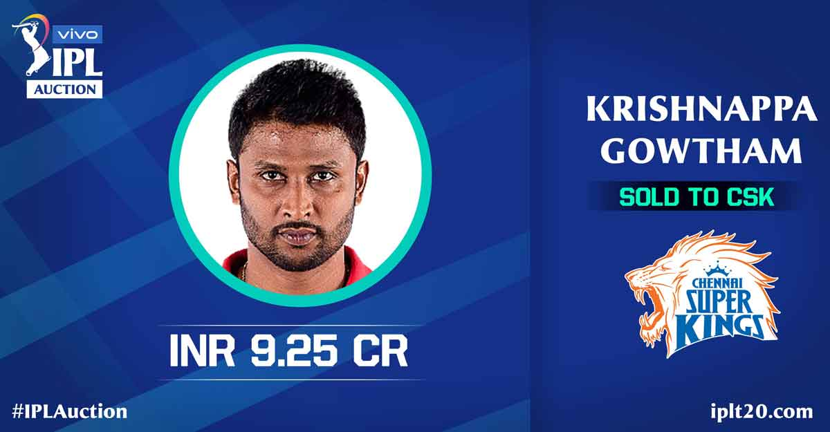 List of players sold in IPL 2021 auction