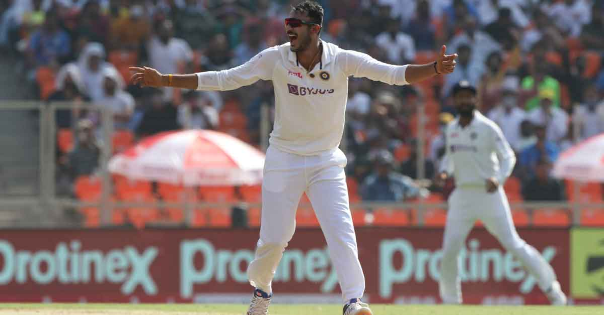 Pink-ball Test: Axar, Rohit put India on top