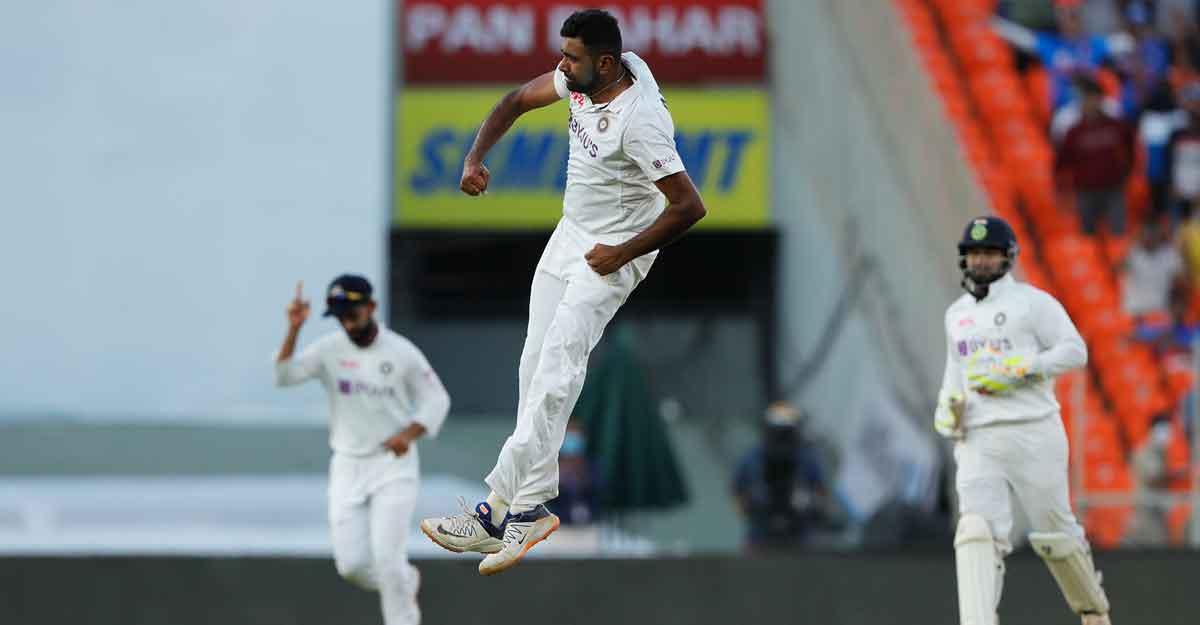 Ashwin in 400-wicket club