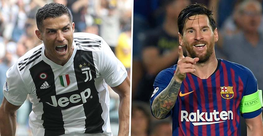 Ronaldo, Messi shortlisted for Best FIFA Men's Player award