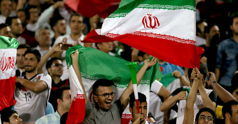 Iran women allowed into football stadium for first time in decades