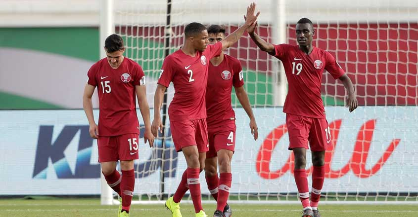 Asian Cup: Sound of silence as Qatar hit North Korea for six