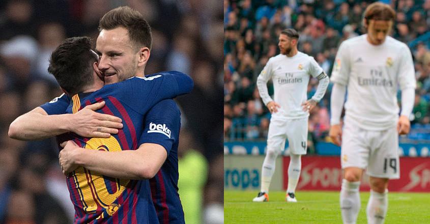 Real Madrid beaten by Mallorca as Barca go top of La Liga