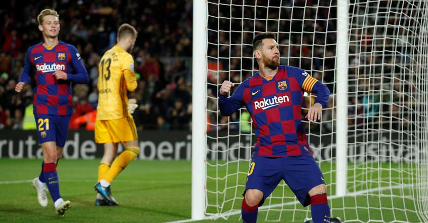 La Liga: Messi gives set-piece masterclass as Barca crush Celta