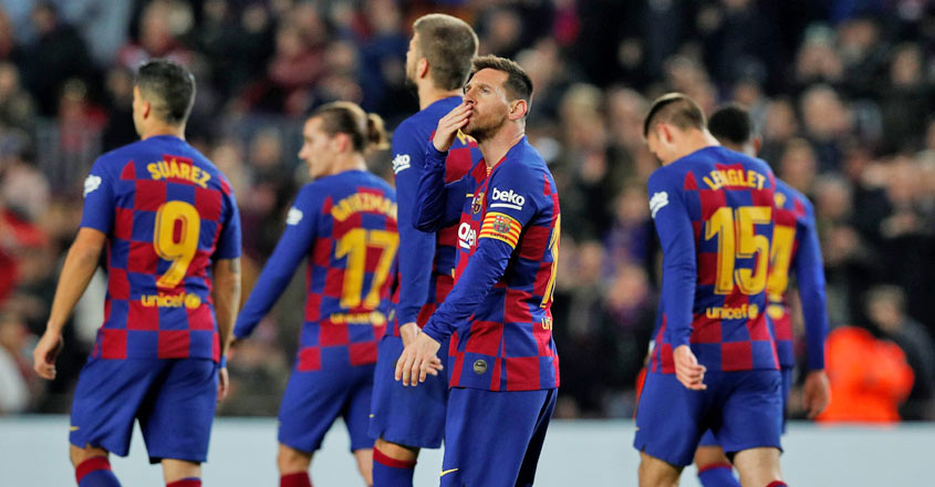 Messi nets sublime hat-trick as Barcelona rout Mallorca