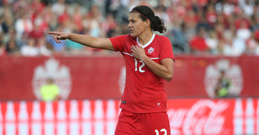 Canada's Christine Sinclair breaks record for most international goals