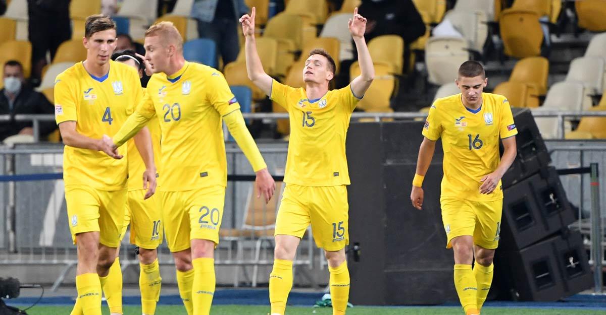 Nations League: Ukraine stun Spain; Germany split points with Switzerland