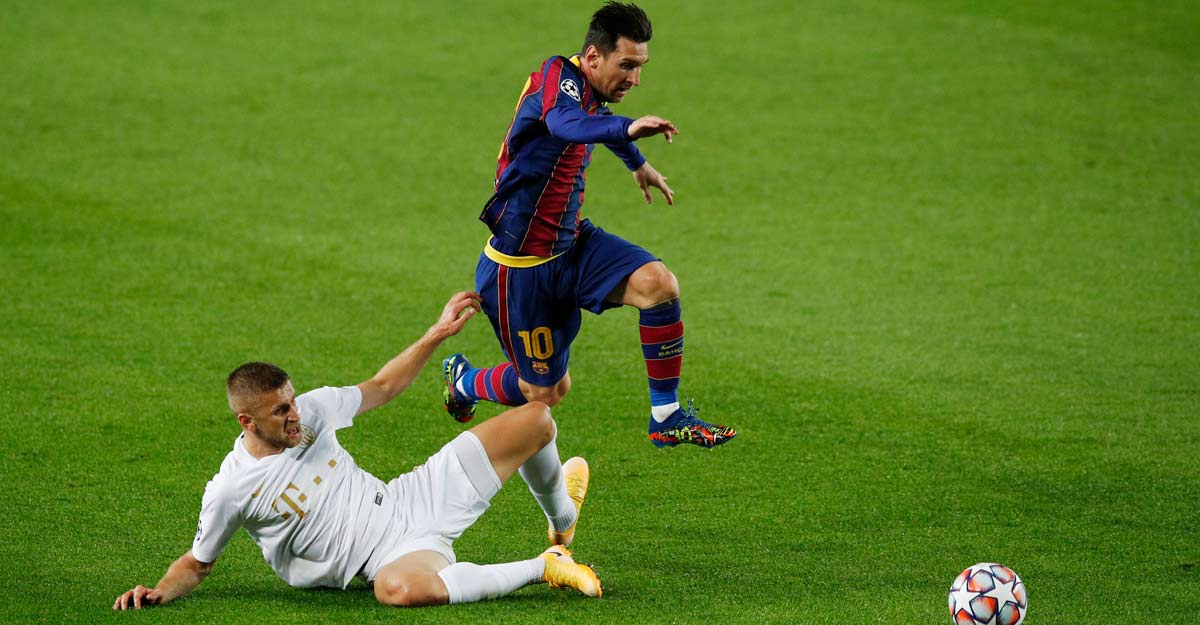 No stopping Messi