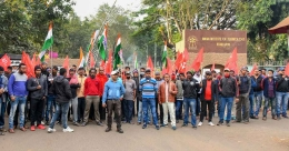 Trade union strike hits normal life in Kerala, Tamil Nadu; Bank operations partially hit