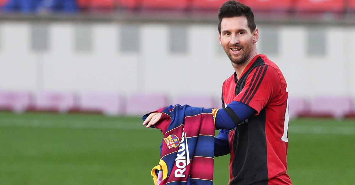 Messi pays tribute to Maradona as Barca rout Osasuna