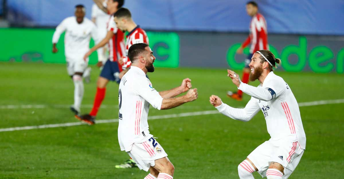 Real prove too good for Atletico in Madrid derby