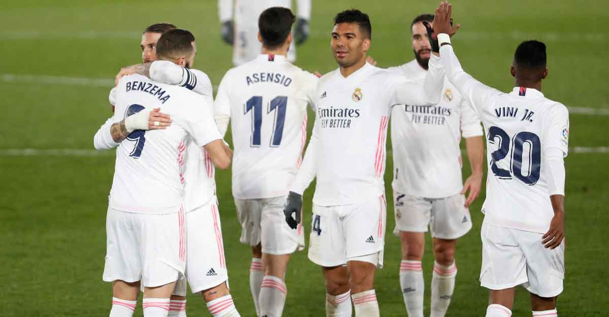 La Liga: Real Madrid make it five in a row
