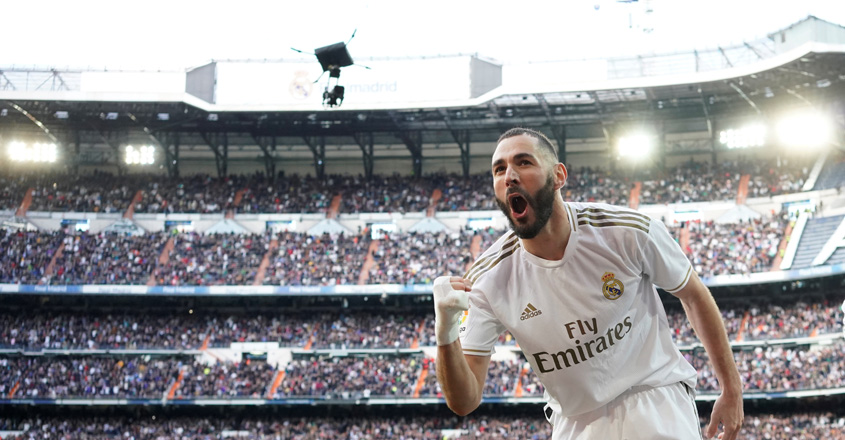 La Liga: Benzema strike gives Real derby win over Atletico