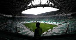 Qatar dedicates new World Cup stadium to COVID-19 frontline workers