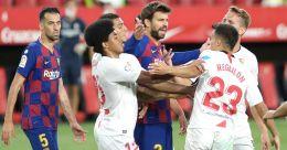 La Liga: Sevilla hold Barcelona